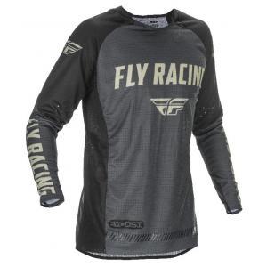 Motokrosový dres FLY Racing Evolution 2021 černo-šedý výprodej