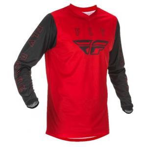 Motokrosový dres FLY Racing F-16 2021 červeno-černý