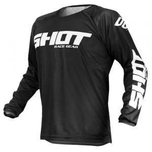 Motokrosový dres Shot Devo Raw černý