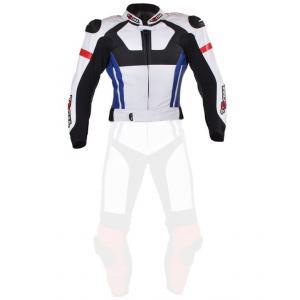 Pánská bunda Tschul 580 bílo-červeno-modro-černá - II. jakost