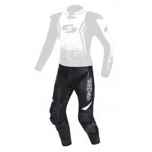 Pánské kalhoty Tschul 585 černo-bílé