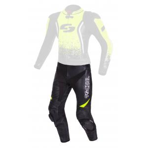 Pánské kalhoty Tschul 585 černo-fluo žluté