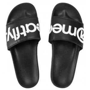 Pánské pantofle Meatfly Hudson černo-bílé
