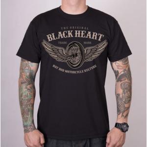 Pánské triko Black Heart Wings