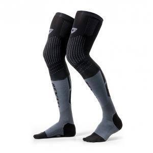 Ponožky na motorku Revit Rift černo-šedé