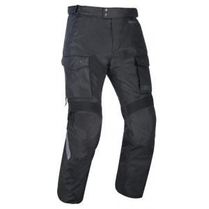Prodloužené kalhoty na motorku Oxford Advanced Continental černé