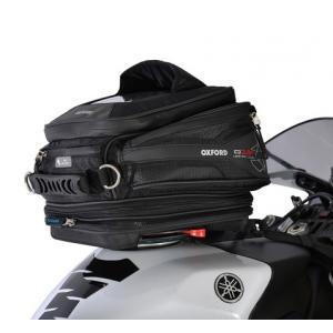 Tankbag na motocykl Oxford Q15R QR černý 15 l
