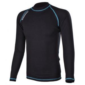 Termo triko RSA Heat černo-modré dlouhý rukáv