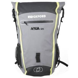 Vodotěsný batoh Oxford Aqua B25 černo-šedo-fluo žlutý 25 l