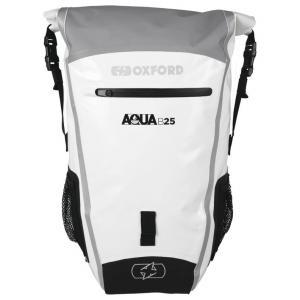 Vodotěsný batoh Oxford Aqua B25 šedo-bílý 25 l