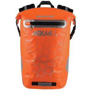 Vodotěsný batoh Oxford AQUA V12 oranžový 12 l