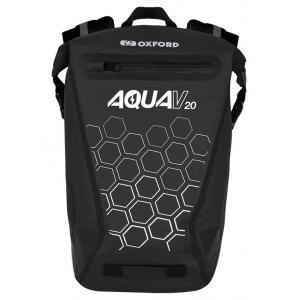 Vodotěsný batoh Oxford AQUA V20 černý 20 l