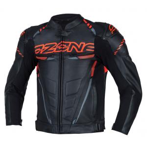 Bunda na motorku Ozone RS600 černo-oranžová
