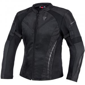 Dámská bunda na motorku Rebelhorn Flux černá