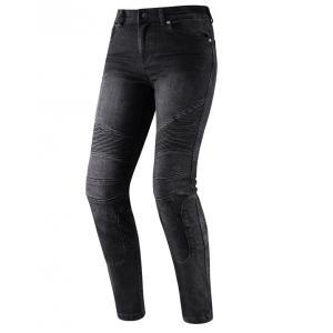 Dámské jeansy na motorku Rebelhorn Vandal černé