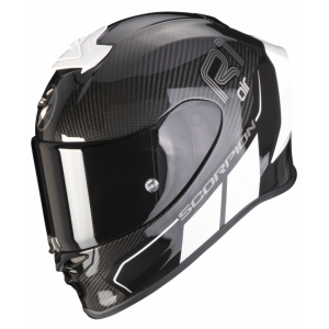 Integrální přilba Scorpion EXO-R1 Carbon Air Corpus II černo-bílá
