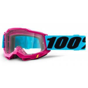 Motokrosové brýle 100% ACCURI 2 růžové (čiré plexi)