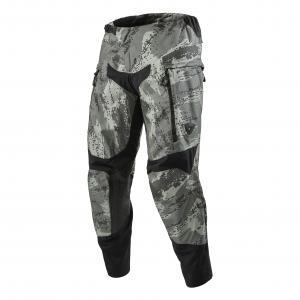 Motokrosové kalhoty Revit Peninsula camo šedé