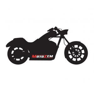 Nálepka MotoZem Chopper Bike