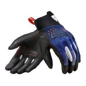 Rukavice na motorku Revit Kinetic černo-modré