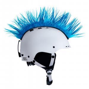 Číro na helmu Mohawk č.39 světle modré