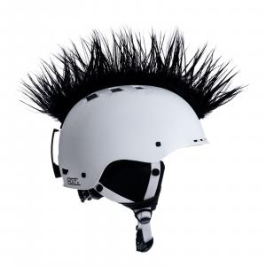Číro na helmu Wiggystyle Mohawk Black č.39 černé