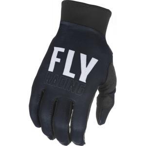 Motokrosové rukavice FLY Racing Pro Lite - USA bílo-černé