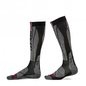 Ponožky na motorku Revit Kalahari šedo-červené