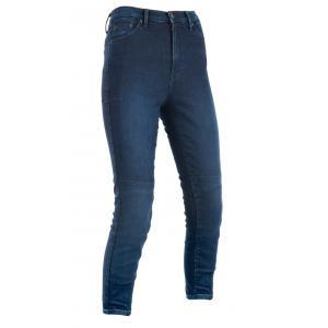 Zkrácené dámské kalhoty Oxford Original Approved Jeggings AA modré indigo