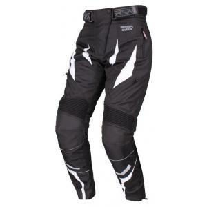 Dámské kalhoty na moto RSA Queen černo-bílé