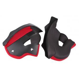 Lícnicové výstelky pro přilby na motorku RSA TR-01 - červené výprodej