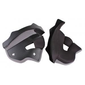 Lícnicové výstelky pro přilby na motorku RSA TR-01 - šedé výprodej