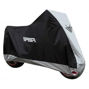 Moto plachta na motocykl RSA černo-stříbrná