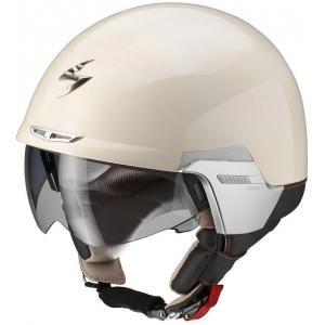 Přilba na motorku Scorpion EXO-100 Padova II béžová výprodej