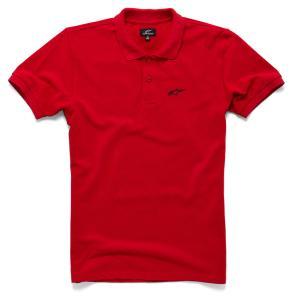 Triko Alpinestars Effortless Polo červené výprodej