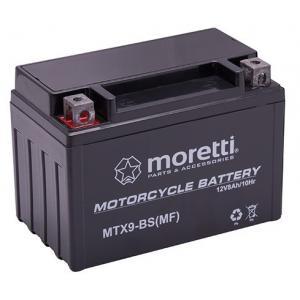Bezúdržbová gelová baterie Moretti MTX9-BS, 12V 8Ah