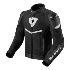 Bunda na motorku Revit Mantis černo-bílá výprodej