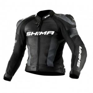 Bunda na motorku Shima STR černo-šedá výprodej