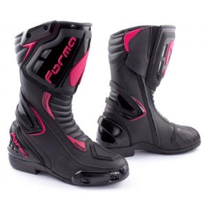 Dámské boty na motorku Forma Freccia černo-růžové
