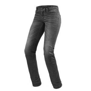 Dámské jeansy na motorku Revit Madison 2 RF šedé výprodej