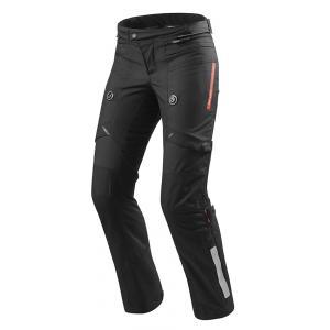 Dámské kalhoty na motorku Revit Horizon 2 černé prodloužené