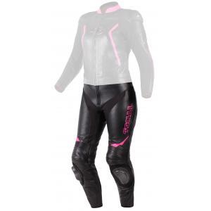 Dámské kalhoty Tschul 536 černo-růžové