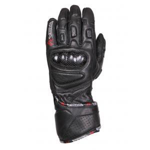 Dámské rukavice na motorku RSA RX-1 černé