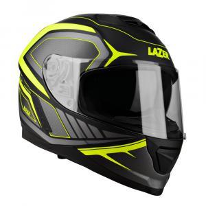 Integrální přilba na motorku Lazer Rafale Hexa černo-fluo žlutá