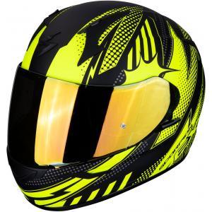Integrální přilba Scorpion EXO-390 Pop černo-fluo žlutá výprodej