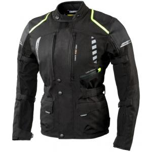 Moto bunda Rebelhorn Hiker II černo-fluo žlutá