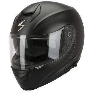 Moto přilba výklopná Scorpion EXO-3000 černá matná