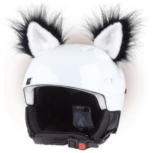 Uši na helmu Kočka černá
