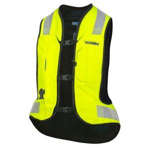 Airbagová vesta HELITE Turtle 2 fluo žlutá