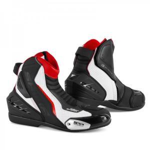 Boty na motorku Shima SX-6 černo-bílo-červené